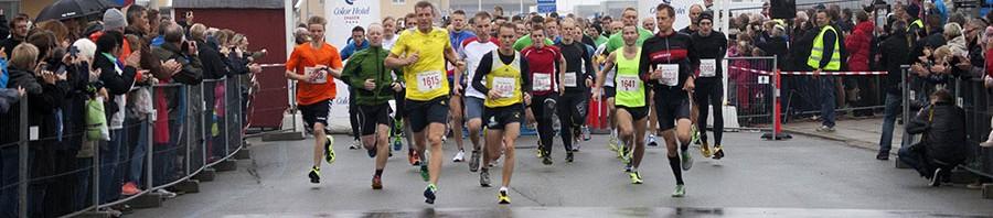 Startskuddet på ½ marathon