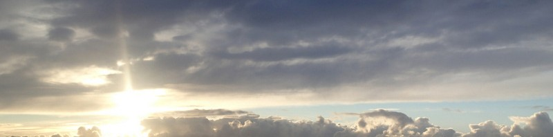 Solnedgang over Furesøen.